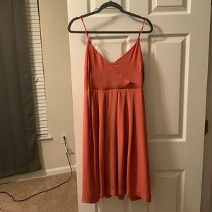 Madewell silk fern dress size 6